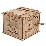 ESC WELT Space Box - Caja de rompecabezas de madera para niños y adultos - Lo más destacado para los fanáticos de los puzles - Lleva tu experiencia de Escape Room a casa