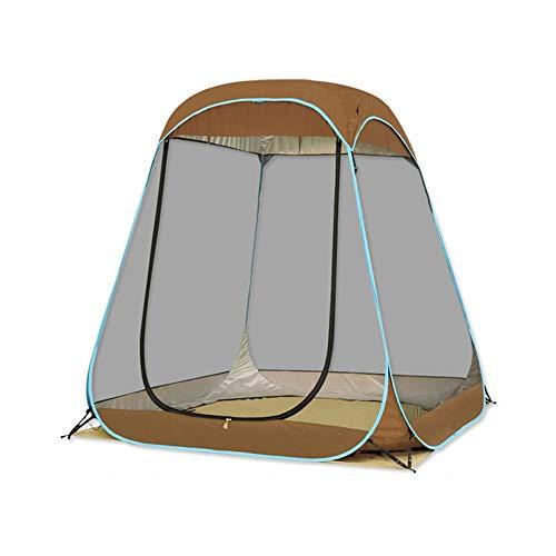 Luyshts Carpa Gran Espacio Tienda De Campaña Al Aire Libre for 4 Personas Viaje Interior Y Exterior Malla contra Mosquitos Gazebo Playa Sombra Cuenta