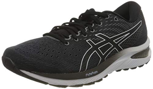 ASICS Mens Gel-Cumulus 22 Running Shoe, Carrier Grey/Black,41.5 EU