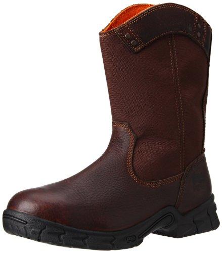 Timberland PRO Men's Excave Wellington Steel Toe Work Shoe,Brown,12 W US