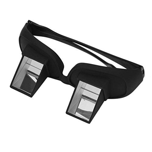 Fansport Occhiali Orizzontali Occhiali da Letto Periscopio Pigro Sdraiati a Leggere Gli Occhiali per Guardare La TV