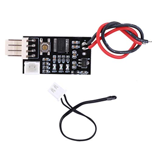 Módulo controlador de velocidad de control de temperatura del ventilador, VHM-802 Regulador de controlador de velocidad de temperatura de 4 cables PWM de 12 V para ventilador de PC