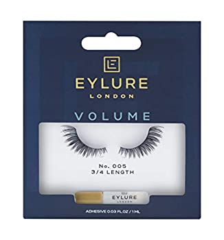 Eylure Volume False Lashes Style No 005 Reusable Adhesive Included 1 Pair
