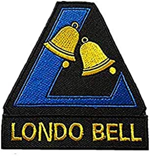 Mobile Suit Gundam UC Londo Bell Military Hook Loop Tactics Morale Embroidered Patch