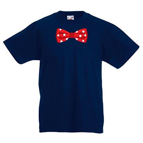 N4551K La Camiseta de los niños Look Like a Boss (9-11 Years Azul Oscuro Multicolor)