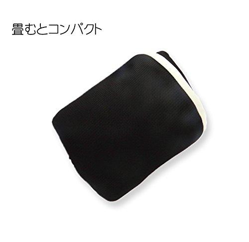 ADVANCE旅行用エアーネックピロークールマックス仕様日本製ブラックbk