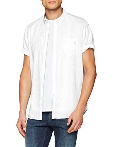 LERROS Herren Hemd Freizeithemd, Weiß (Broken White 103), Medium