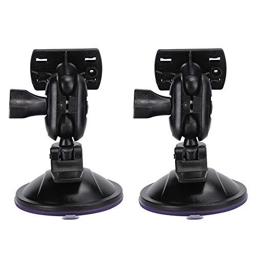 Cosiki Soporte para grabadora de conducción, Soporte de navegador GPS para Coche con abs de Cuerpo Principal en ángulo de 360 Grados, para Conducir Seguridad en la Carretera(Four Claw Head)