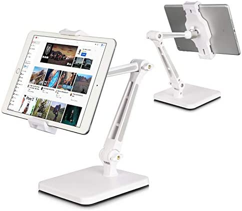 DoubleSun iPad Stand Holder Tablet Stand Adjustable 360 Swivel Folding Arm Clamp Mount iPad product image