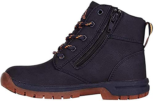 Kappa Unisex Cammy Kurzschaft Stiefel, Blau (6744 Navy/orange), 36 EU
