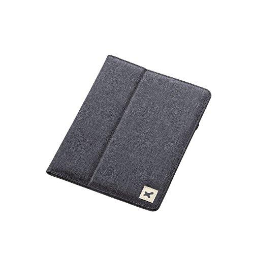 エレコム タブレットケース タブレット収納ケース タブレットケース タブレット収納ケース タブレット ケース 8.5~10.5インチ ファブリック生地 スタンド機能付 ブラック TB-10FCHBK