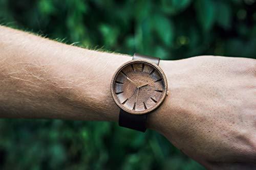 Holzuhr Männer Argus Von Ovi Watch, Minimalistisches Design, Nachhaltige Produkte, Armbanduhr Herren