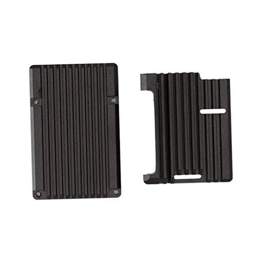 perfk Aluminiumlegierung Kühlgehäuse Shell Schutz Für Raspberry Pi 2B / 3B / 3B +