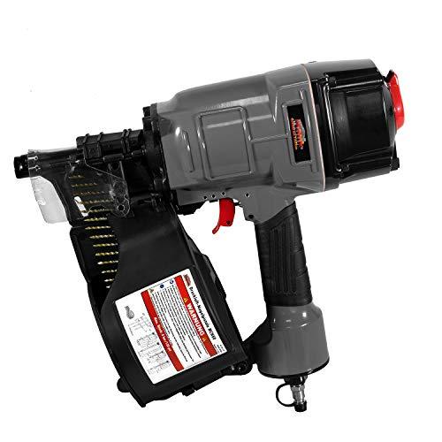 Mauk Nagelpistole Druckluft Nagler MCN80 Nagelänge 50-83 mm Max. 8,3 bar - Coil Nailer