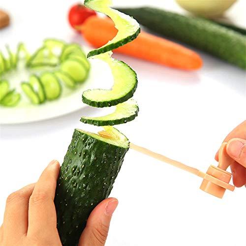 Pycong Spiralschneider, Karotten- und...