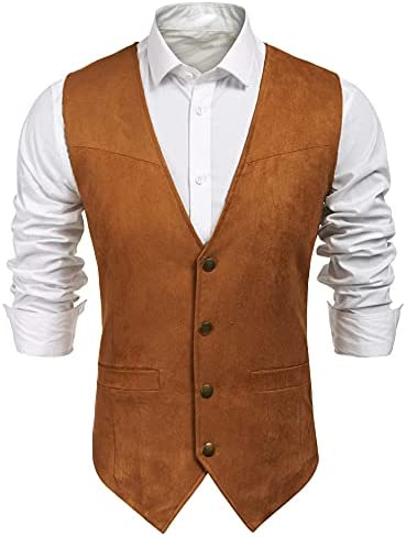 Brown vest men _image0