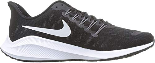 Nike Air Zoom Vomero 14, Zapatillas de Running para Hombre, Negro (Black/White/Thunder Grey 001), 44 EU