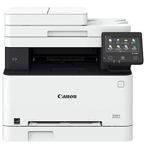 Canon レーザープリンター A4カラー複合機 Satera MF642Cdw(21PPM/両面印刷/片面ADF/有線・無線LAN)