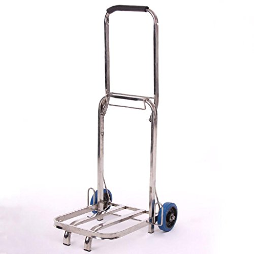 MOXIN Weight Capacity Industrial Hand Trolley Cart Folding Foldable Easy Store Car Van Garage Home Warehouse