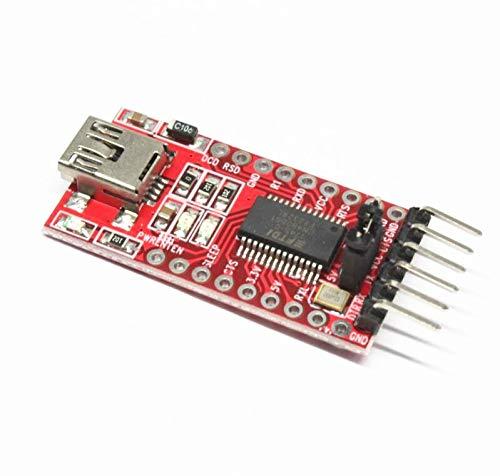 100PCS FT232RL FTDI USB 33V 55V to TTL Serial Adapter Module for Arduino FT232 Mini Port