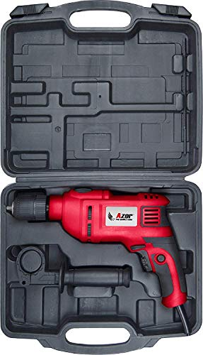 Azor TP-4530 Taladro Percutor, 750 W, 240 V, Rojo