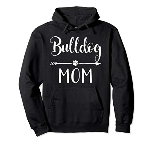 English French American Bulldog Mom Pullover Hoodie