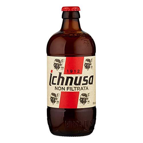 3 bottiglie birra ICHNUSA NON FILTRATA 0,5 L