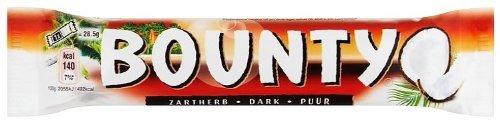 24 x Chocolade Bounty Puur 57 gram