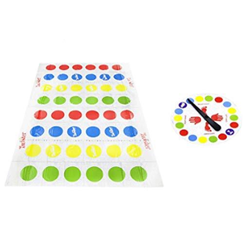 AMOYER Outdoor-Sport-Spielzeug-Geschenk Lustige Kinder Erwachsene Körper Twister Moves Mat Brettspiel-Gruppe
