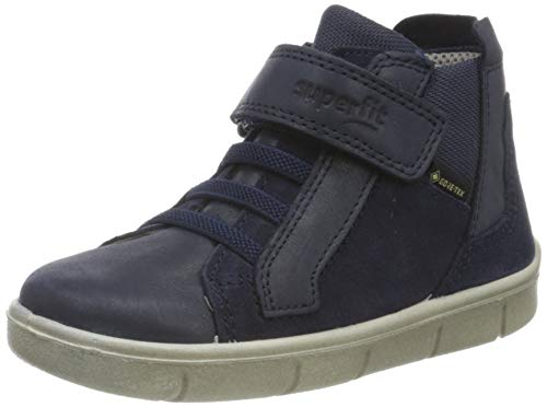Superfit Baby Jungen ULLI Sneaker, (Blau 80), 24 EU