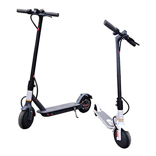 M/P Scooters for Adult, Foldable Lightweight Adult Electric Scooter - Quick-Release Folding System - Front Suspension System,8.5