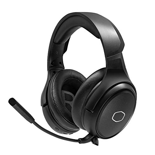 Cooler Master MH670 Auriculares Inalámbricos Gaming Headset Sonido Entorno Virtual 7.1, Compatible PC y Consola Audio Drivers Neodimio 50mm, Portátiles con Mic Ultra-Clear Boom, USB Tipo A/C / 3.5mm