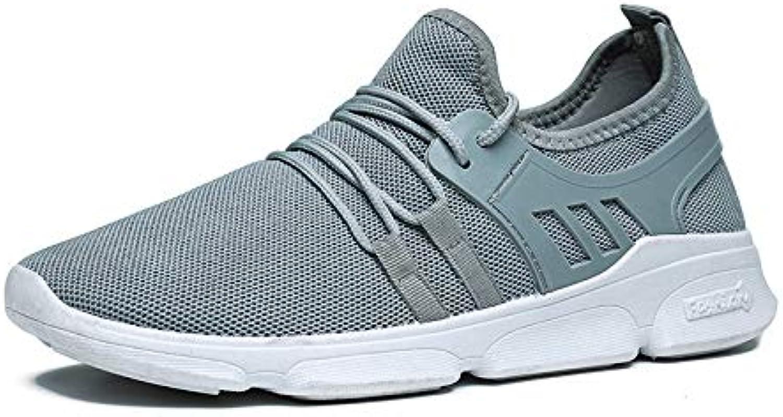 LOVDRAM Men's shoes New Summer Sports shoes Mesh shoes Men'S Mesh shoes Breathable Lightweight Running shoes Men'S shoes Tide Travel shoes