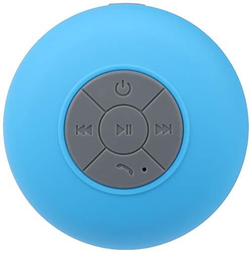 Altavoz Bluetooth Impermeable para Motorola Moto G7 Power Smartphone con Ventosa Altavoz Micro Ducha pequeño (Azul)