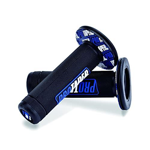 STARELO Motorrad Dirt Pit Bike 7/8 Zoll Lenker Rubber Brake Hand Griffe (Blau)