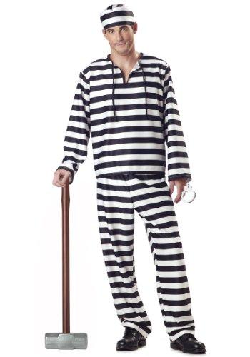 California Costumes Jailbird
