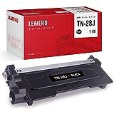 Lemero ブラザー用 TN-28J ブラック 互換トナーカートリッジ 印刷枚数:約2600枚 対応機種:MFC-L2740DW / MFC-L2720DN / DCP-L2540DW / DCP-L2520D / FAX-L2700DN / HL-L2365DW / HL-L2360DN / HL-L2320D【説明書付】【1年安心保証】
