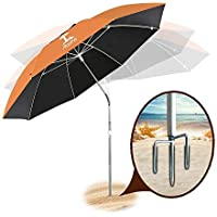 AosKe Patio Portable & Windproof Umbrella