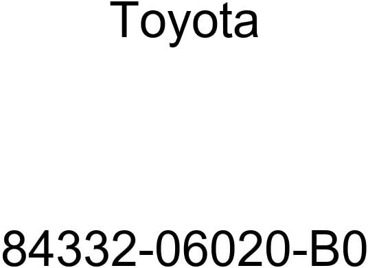 TOYOTA 84332-06020-B0 Hazard Warning Switch Ranking TOP6 Signal Assembly Cheap mail order sales