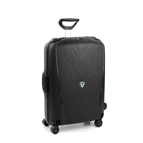 RONCATO Light trolley large rigido 4 ruote tsa Nero