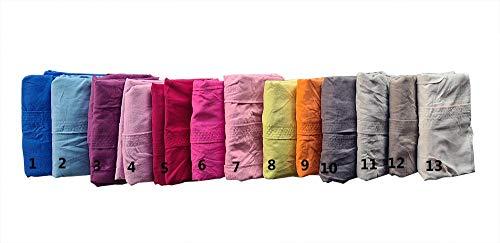 M&O Accappatoio Microfibra Uomo Donna Ragazzo Ragazza Leggero con Cappuccio 2 Tasche Cintura Unisex Ciabatte Infradito in Omaggio Solo Misura Grande Vari Colori Taglia S M L XL XXL