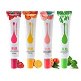 EXCEART Lubricante de Gel Resbaladizo para Parejas de 50Ml de Té Verde con Sabor a Fruta para Hombres Y Mujeres