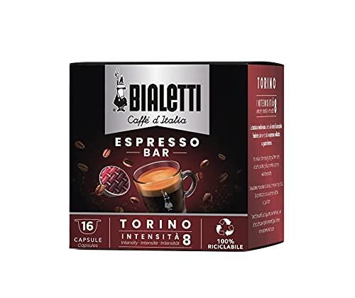 Bialetti Caffè d'Italia Torino (Gusto Cioccolatato) - Box 16 Capsule