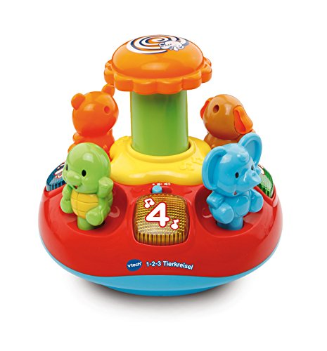 VTech Baby 80-186304 - 1-2-3 Tierkreisel