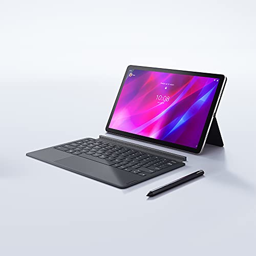 Lenovo Tab P11 Pro (11.5 inch, 6GB, 128GB, Wi-Fi+LTE), Slate Grey with Keyboard and Precision Pen