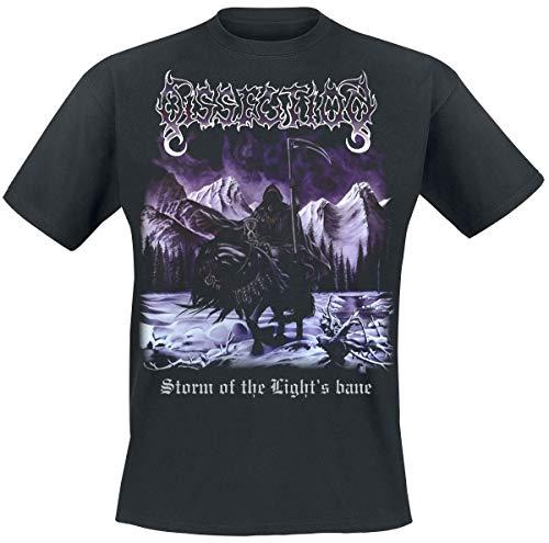 Dissection Storm of The Light's Bane Männer T-Shirt schwarz XL 100% Baumwolle Band-Merch, Bands