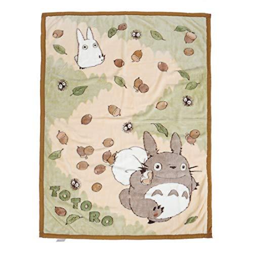 CoolChange Totoro Kuschel Decke mit süßem Motiv 90x120cm
