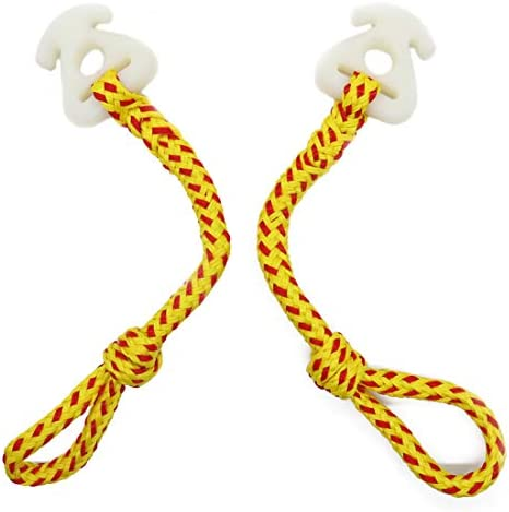 Botepon 2Pcs Boat Tube Towable Rope Quick Connector Water Towable Tubes Rope Connector for Tubing product image