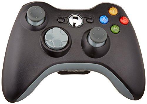Althemax® drahtlose Spiel Joysticks Fernbedienung für Microsoft Xbox 360 Konsole - Schwarz