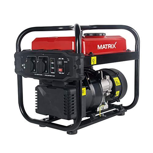 Generador de corriente Matrix 160100475Generadores de corriente, 2000W, gasolina,...